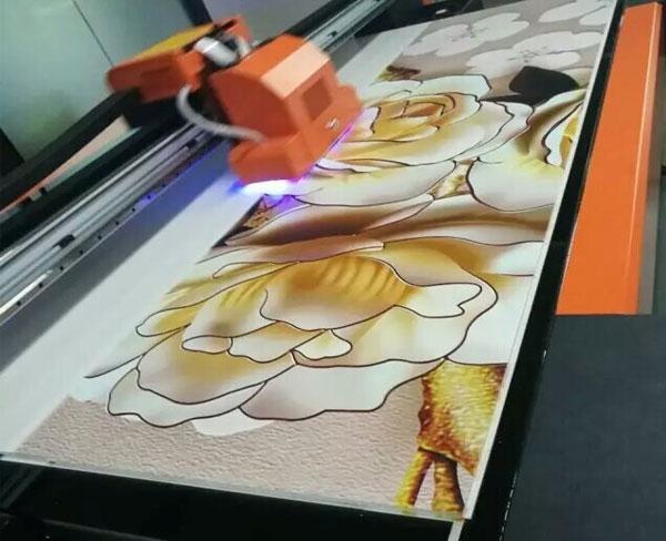 uv平板打印(3D背景墙打印)